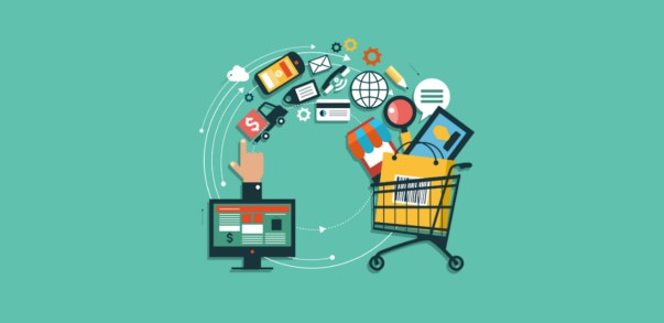 Online shopping websites are wired